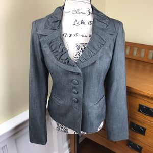 George Frill Collared Lined Blazer